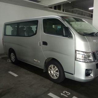 Van rental with or without drive