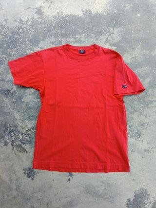 Vtg adidas club plain t shirt