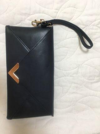 Accessorize Navy Envelope Bag Clubbing Clutch
