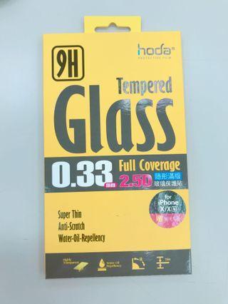 🚚 HODA iPhone X/Xs 5.8吋 2.5D滿版高透光9H鋼化玻璃保護貼