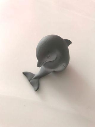 扭蛋公仔 瞓覺海豚