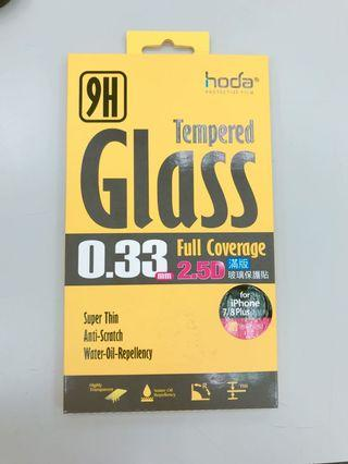 🚚 HODA iPhone 7/8 4.7吋 2.5D滿版高透光9H鋼化玻璃保護貼