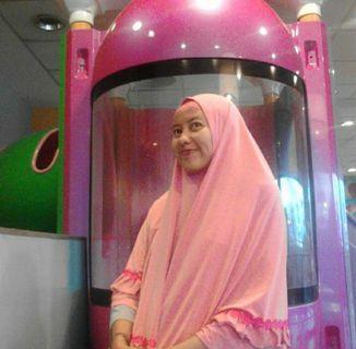 Jilbab nutup dada