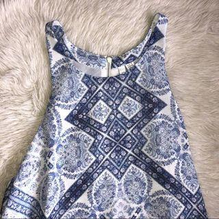 Forever New Printed Dress / Top (Size 6 or 12)