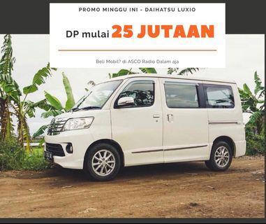 DP MURAH Daihatsu Luxio mulai 33 jutaan. Daihatsu Pamulang
