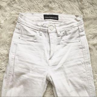 Ziggy White Jeans XXS