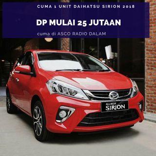DP MURAH Daihatsu Sirion 2018 mulai 25 jutaan. Daihatsu Pamulang