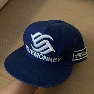 Wave Monkey 藍色棒球帽版帽