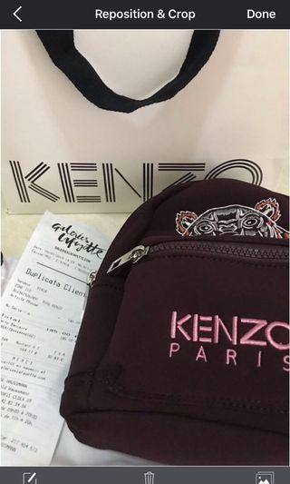 Kenzo Mini Backpack Neoprene