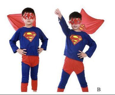 🚚 Superman Set - Halloween Cosplay 2-8 years old