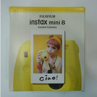 FujiFilm Instax mini 8黃色