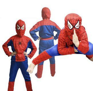 🚚 Spider-Man Spiderman Cosplay Halloween party set 2-8 years old