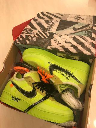 The 10: Nike x OFF-WHITE Air Force Low Volt