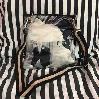 fashion silk sling bag