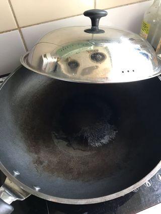生鐵鑊 煎pan 平底鑊