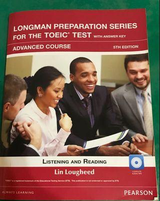 🚚 Longman Preparation Series for the TOEIC Test: Advanced Course-5/E W/MP3-AnswerKey