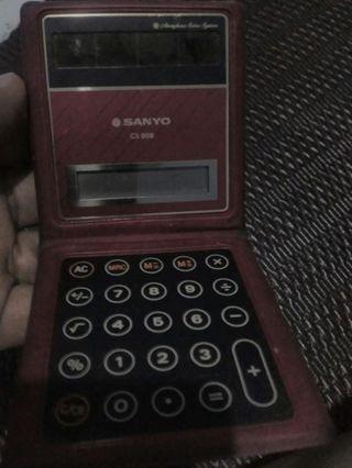 Jual kalkulator merk sanyo