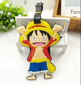 Monkey D Luffy luggage tag