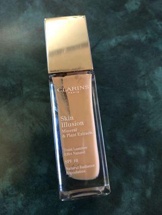 Clarins Skin Illusion Natural Radiance foundation 30ml