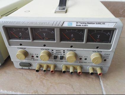 Benchtop Laboratory DUAL Regulated DC Power Supply