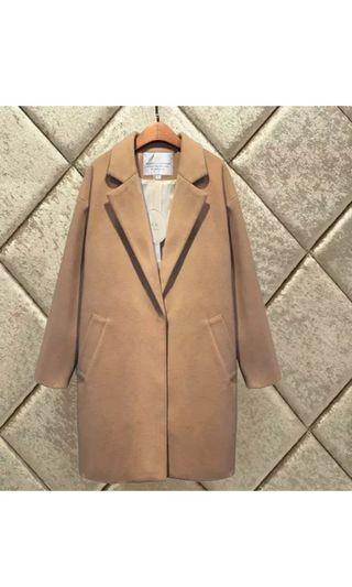 Camel Coat size S