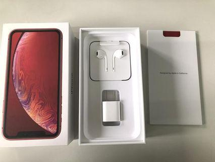 IPHONE XR RED 128 GB NEW