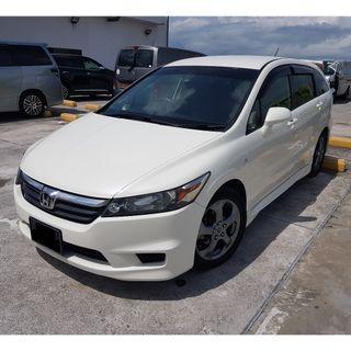 Honda Stream 1.8A 7 seater MPV for short or long term rental