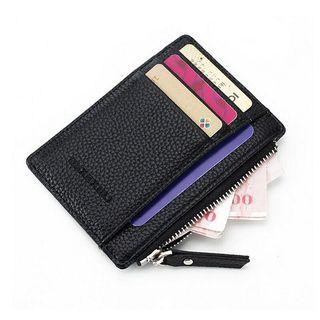 Card Holder with Zip
