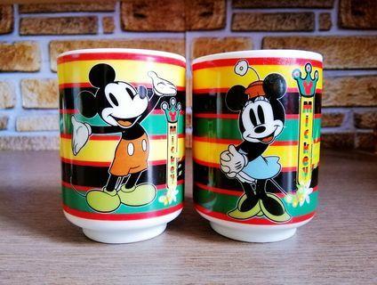 Disney couple ceramic Japanese cup