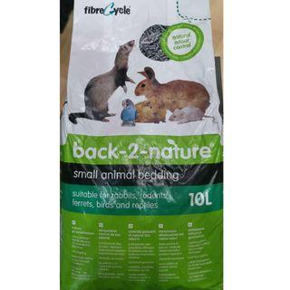 Back-2-Nature Small Animal Bedding - 10L