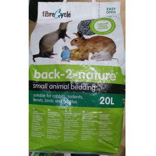 Back-2-Nature Small Animal Bedding -20L