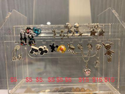 Mk 耳環 earrings