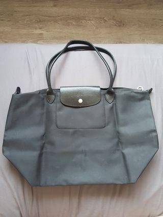 Longchamp Tote Large with Leather Interior