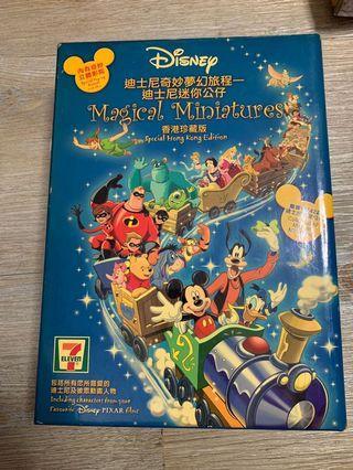 7-11 Disney 迪士尼奇妙夢幻旅程 迪士尼迷你公仔 珍藏Disney