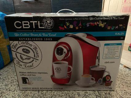 BN The Coffee Bean & Tea Leaf CBTL Kaldi S04 (Red)