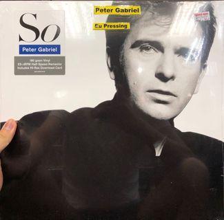 Peter Gabriel - So Vinyl