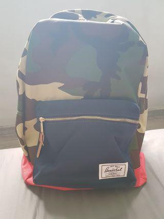 Herschel Backpack with Laptop Compartment in Camou