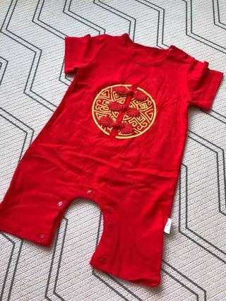 Baby Romper CNY chinese costume