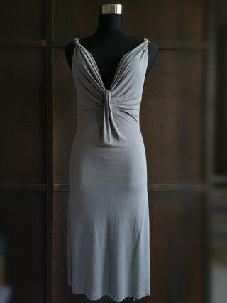 STILE BENETTON Sexy Grey Fit Dress