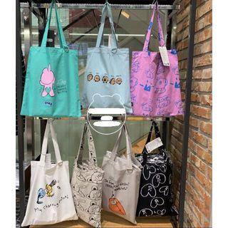 [PO] BTS BT21 Canvas Tote Bag