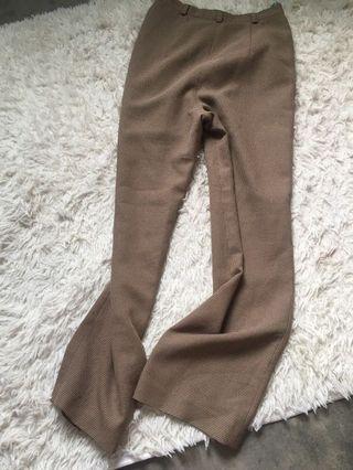 Korean brown pants