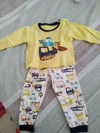 Baju Tidur bayi import