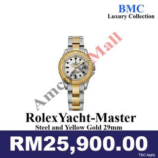 Rolex Yacht-Master Steel and Yellow Gold 29mm(PRE-OWNED)