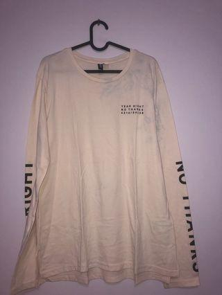 H&M Long Sleeve Baby Pink