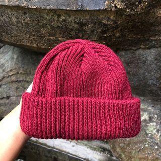 Beanie Hat Maroon