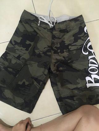 Body glove Men Army green Short Pants