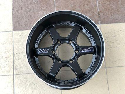 "New Volk Rays Te37 X Large 4x4 16""Rim"