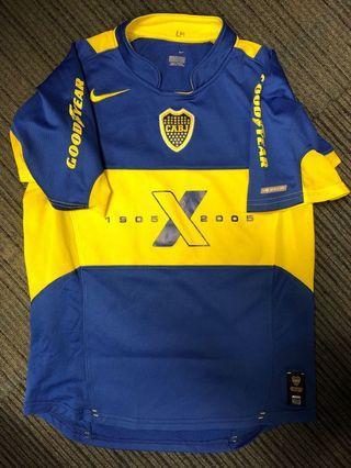 阿根廷小保加2005年百周年短袖主場細碼球衣