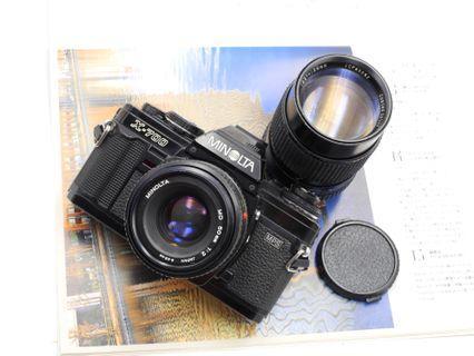 [FILM TESTED] Minolta X700 + 50mm F2 + 135mm F2.8
