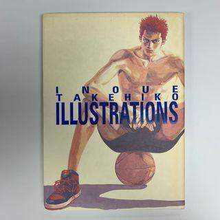 inoue takehiko illustrations (第一版)(浪客行 灌籃高手 Buzzer Beater 宇宙也入樽 作者 井上雄彥 作品)天下出版社1997年出版